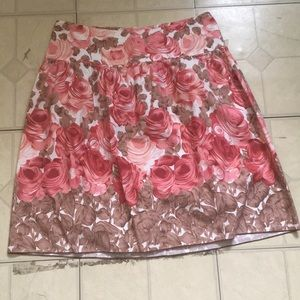 Speechless Floral skirt